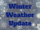 Winter Weather Update banner