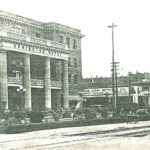Grainy image of Armington Hotel from around 1920