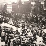 Parade on Main Avenue around 1920