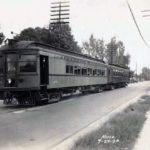 Electric rail cars 1930