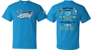 Torch Run cotton T-shirt