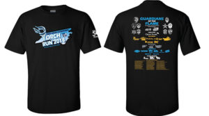 Torch Run tech shirt