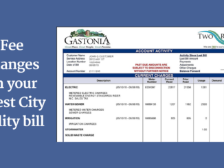 City/Two Rivers utility bill example