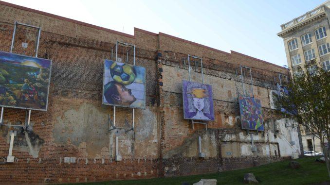 Art in Center City Park