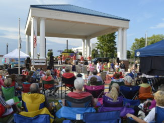 The Entertainers perform on July 27 in Downtown concert series