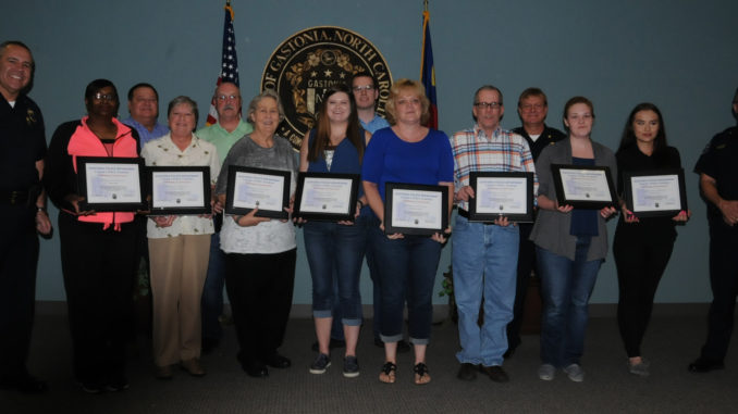 Citizens Police Academy - group of grads