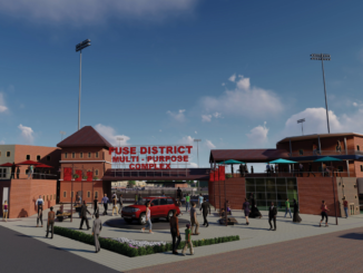 Architect's rendering of FUSE entrance