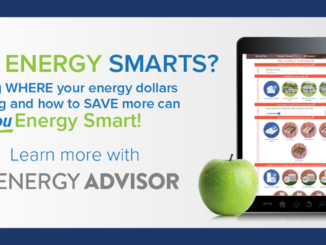 "Tablet, smartphone and words ""Got Energy Smarts?"""