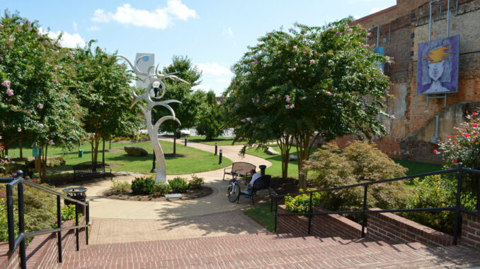 Center City Park in Downtown Gastonia