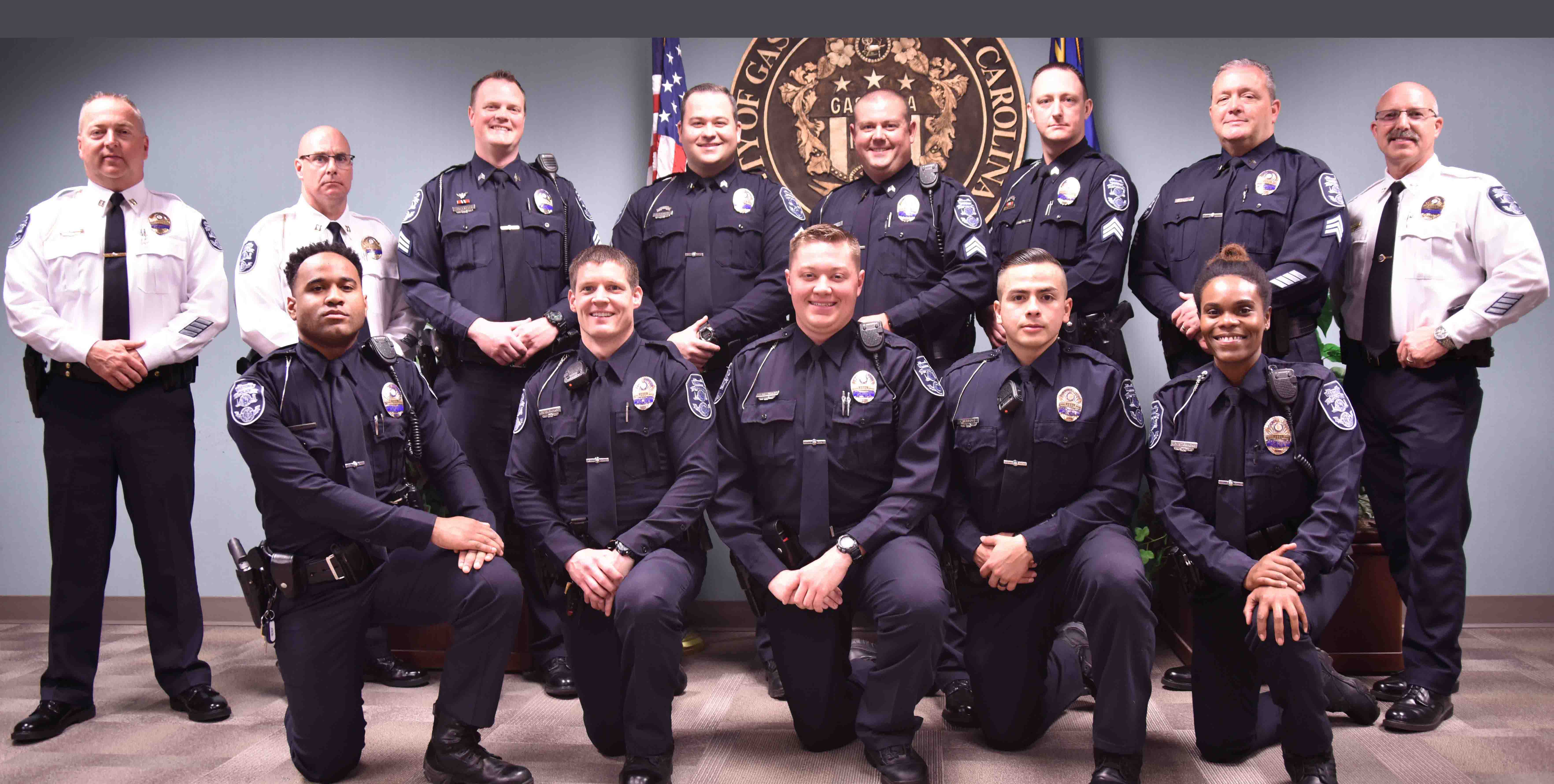 Eight promotions celebrated & five new officers sworn in ...