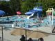 Dozens of people in Lineberger Park pool