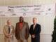 Mayor Jim Robinette, Mayor Walker Reid, Pharr CEO Bill Carstarphen