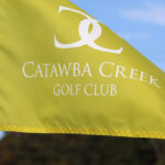Catawba Creek Golf Club yellow flag