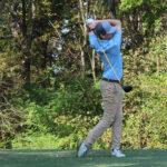 Cody Gibson golfs