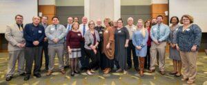 Members of the Keep Gastonia Beautiful Board and City representatives
