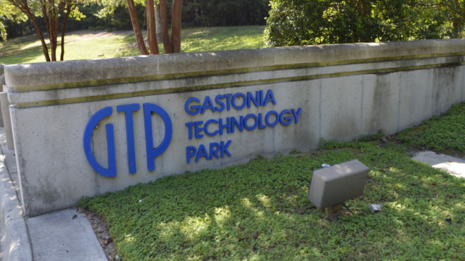 Sign at Gastonia Technology Park