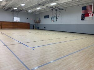 New gym flooring