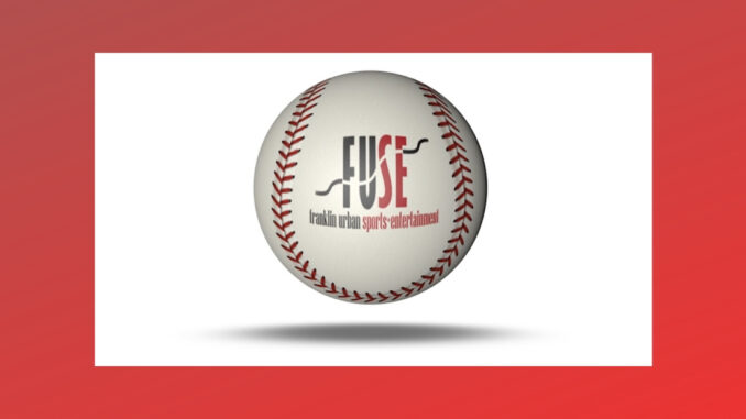 Baseball with FUSE logo