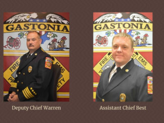 Photos of Deputy Chief Warren and Assistant Chief Best