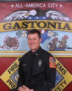 Photo of Fire Captain Joshua Watts