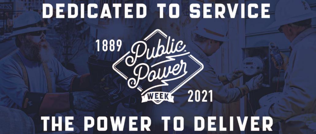 Public Power Week graphic